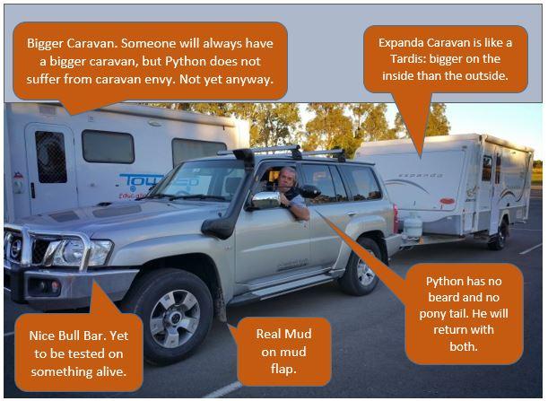 Python's Travelling Caravan