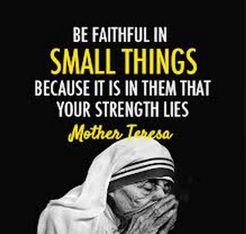 Strength in Small Things
