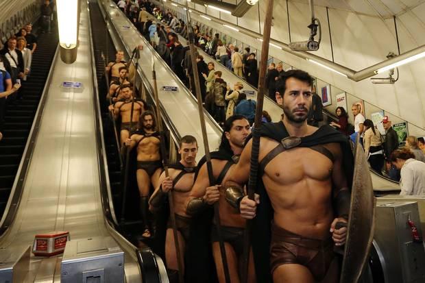Modern day spartans