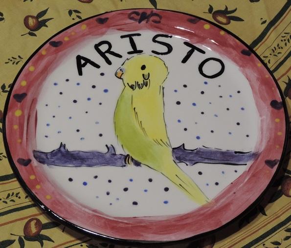 Budgie Aristo Plate