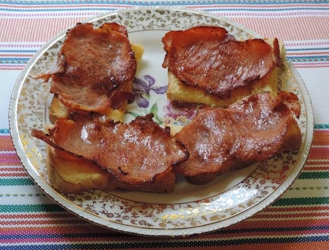 Bacon on Toast