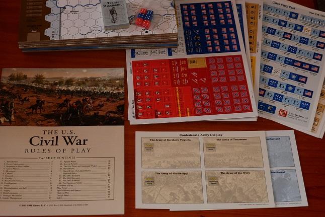 The US Civil War Game Parts