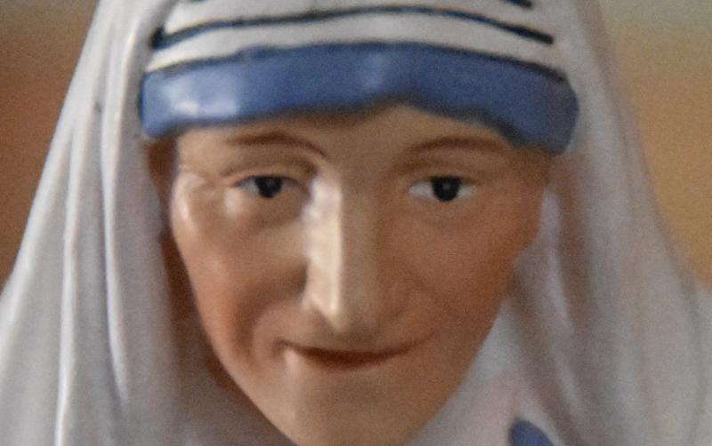 Statue St Teresa of Calcutta Close Up