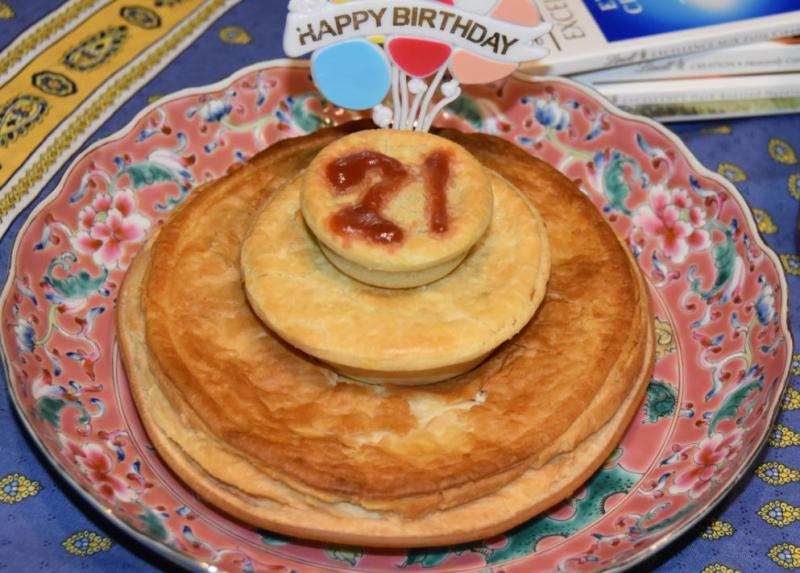 Meat Pie Cake