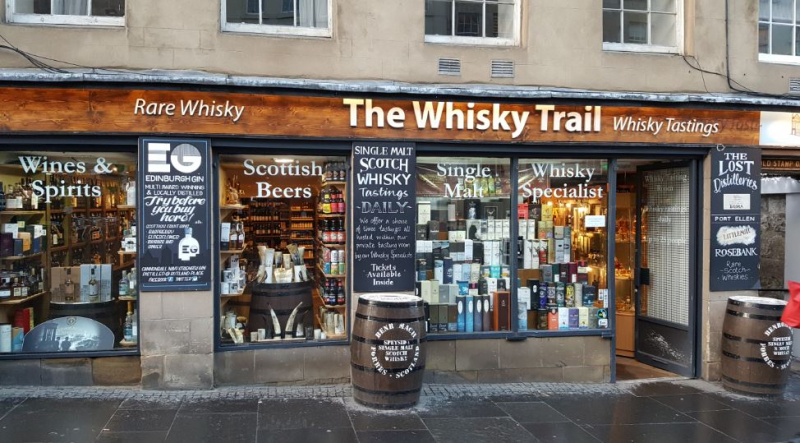 The Whisky Trail Edinburgh