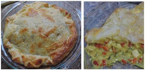 Thai Chicken Curry Pie