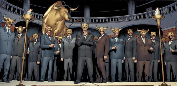 Wall street bulls