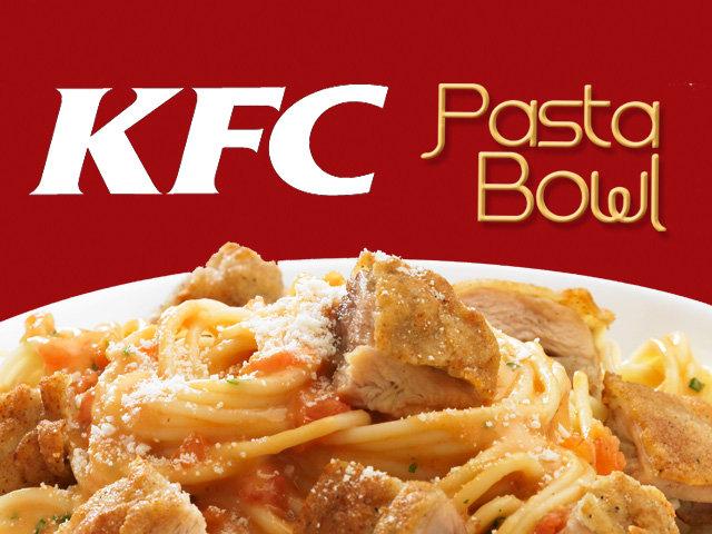 Kfc pasta bowl
