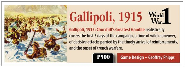 Gallipoli  GMT 2