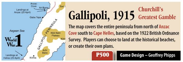 Gallipoli GMT 3