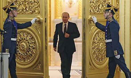 Putin man walk 2