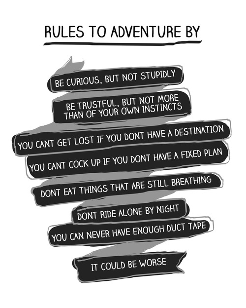 Rules to Adventure By