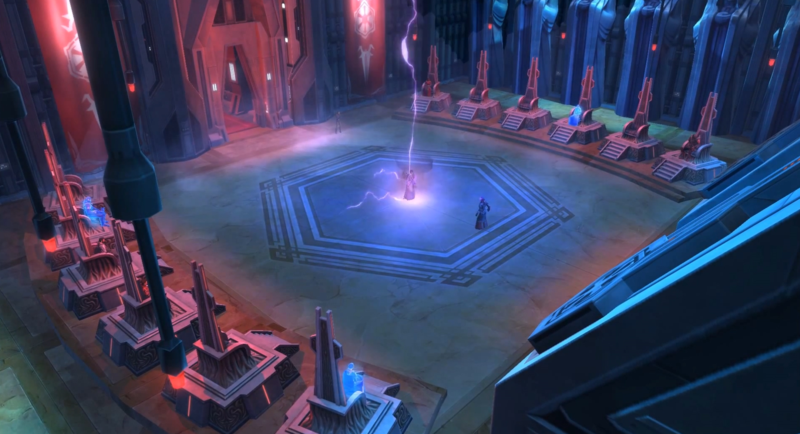 Sith Dark Council Chambers