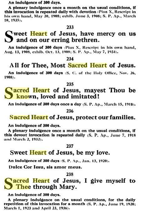 Sacred Heart Prayers 3