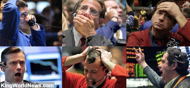 Economic Crash Despair