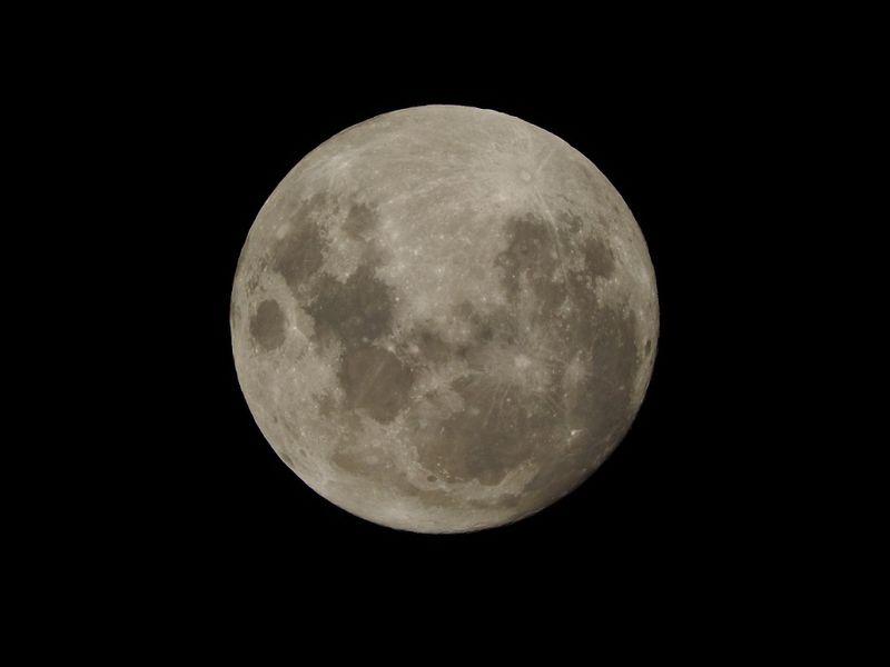 Moon Sydney 25Nov15