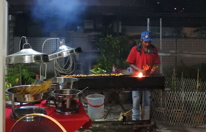 Satay maker sports mode