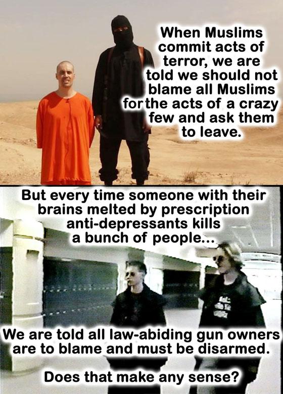 Gun control hoax