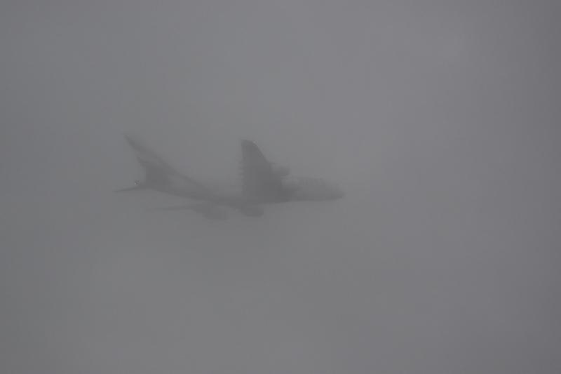 Emirates A380 In Cloud