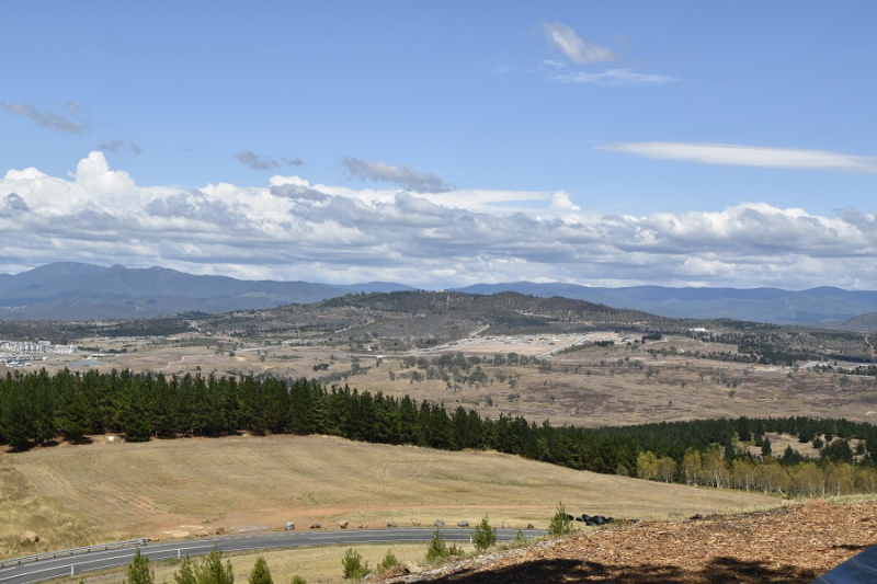 View Towards Mt Stromlo