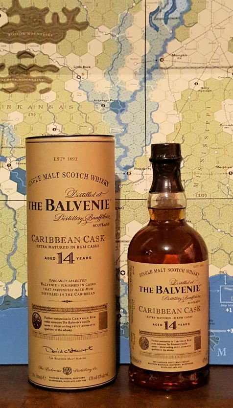 The Balvenie Caribbean Cask 14 Years Single Malt Scotch Whiskey