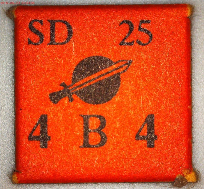 PRESTAGS Legion SD 25 Counter