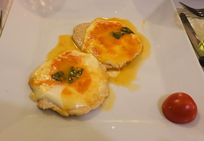 Veal & Mozzarella