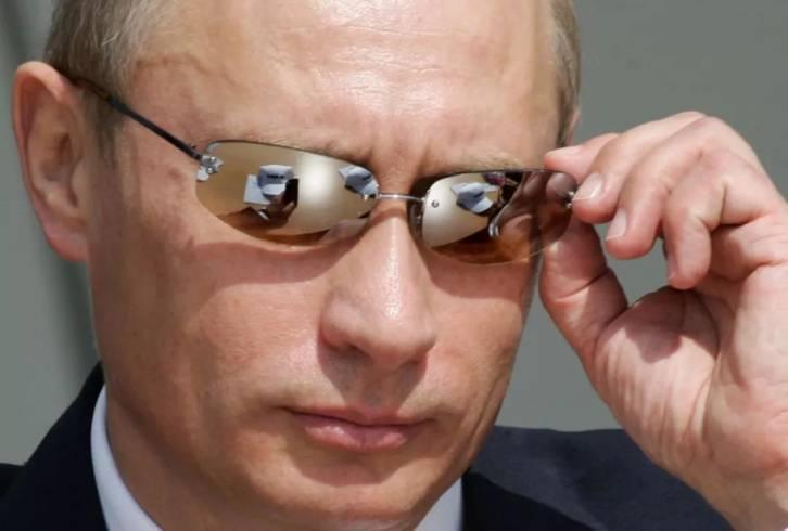 Putin sun glasses