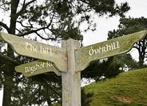 Hobbiton Sign