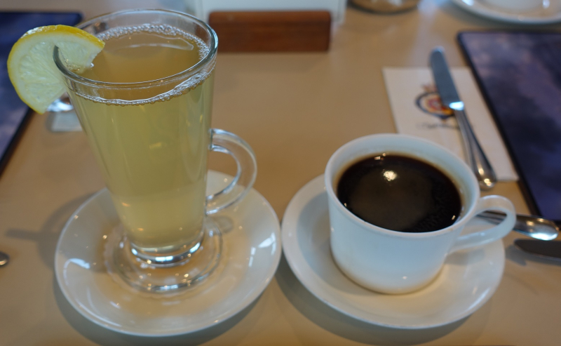 Hot Toddie & Coffee
