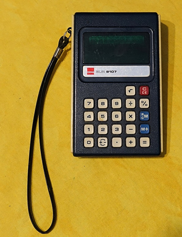 Sharp Calculator ELSI 8107