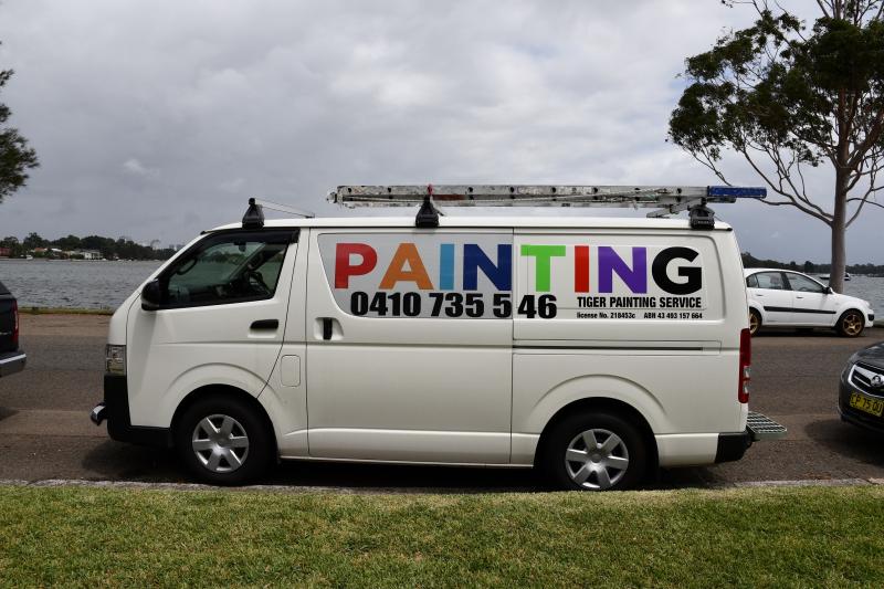 Painting Van