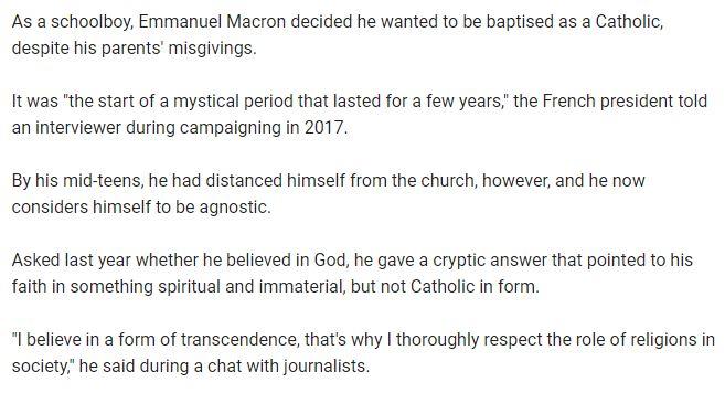 Macron agnostic