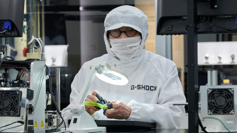 G-shock watches laboratory