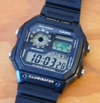 Casio World Time