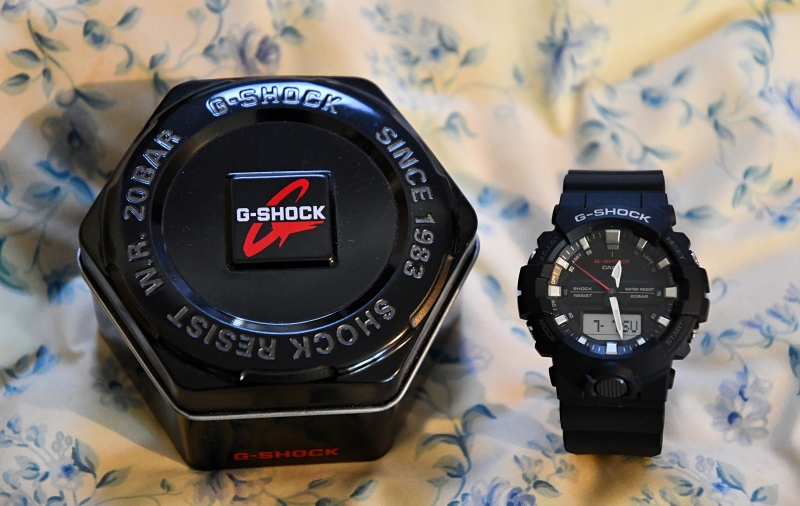 G-Shock & Hegagon Tin