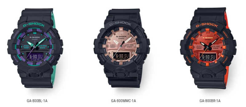 G Shock GA-800 New
