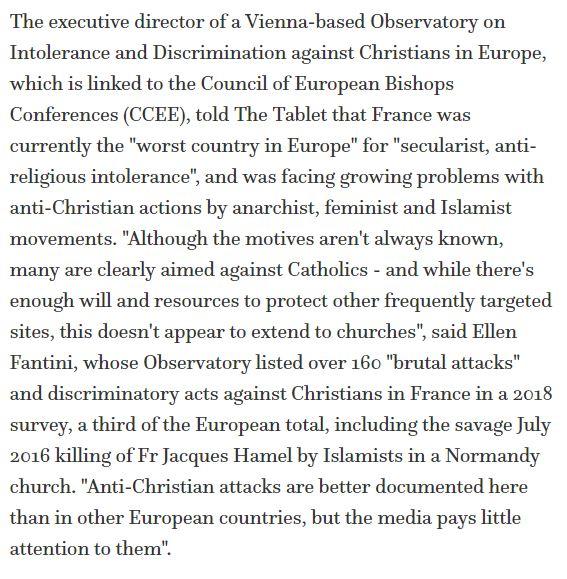 Anti Christian France 2