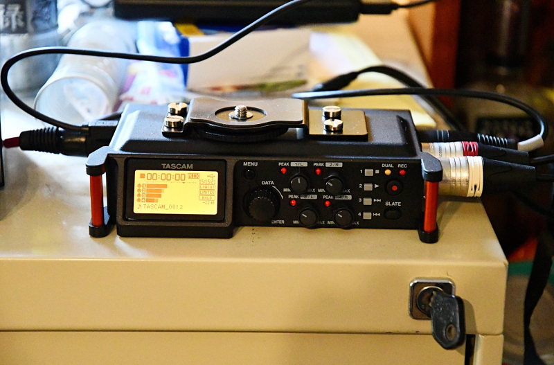 Tascam DR-70D Filing Cabinet