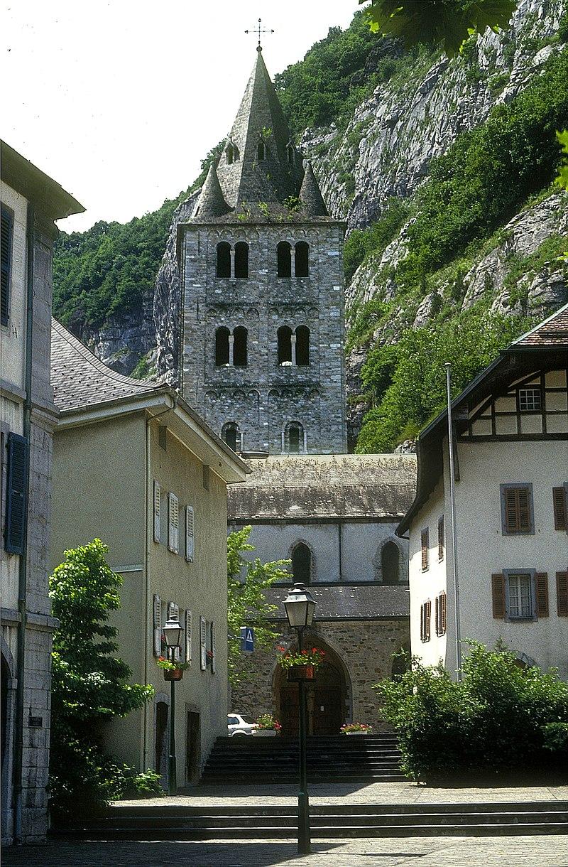 St-Maurice _Abteikirche