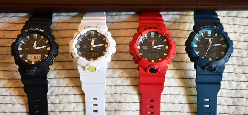 G Shock GA-800 4 Watches lowres