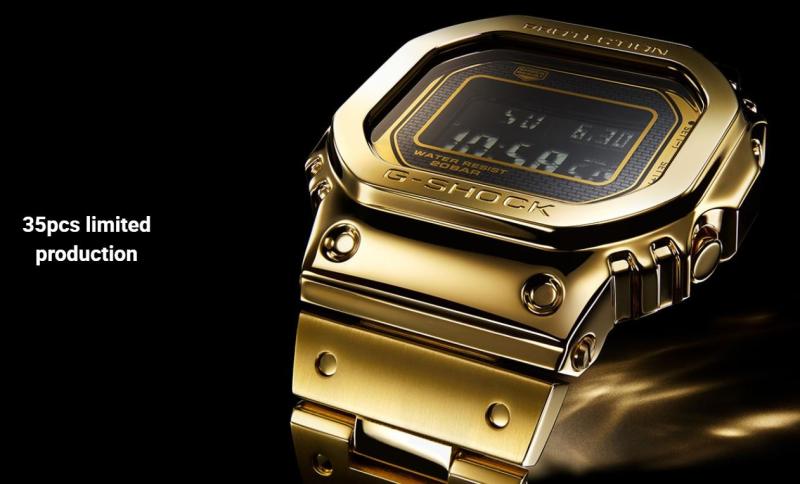 G Shock Gold 2