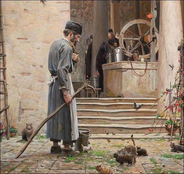 Pavel Rizhenko monk kittens