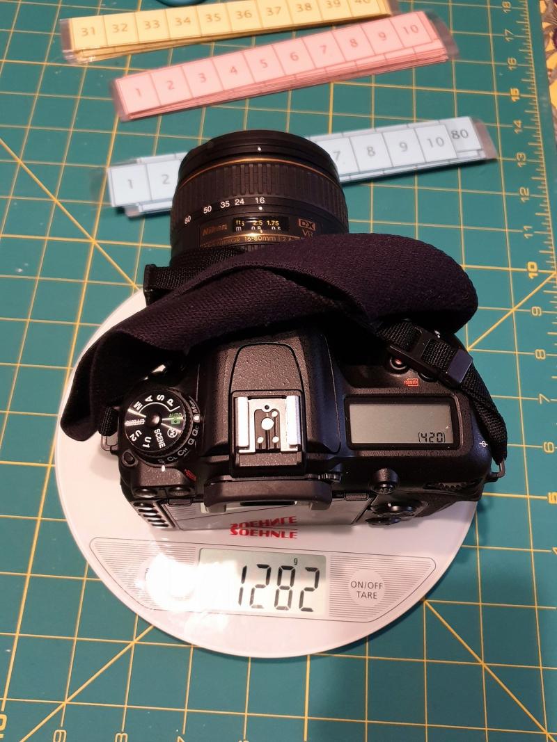 Nikon D7500 16-80 Lens Weight