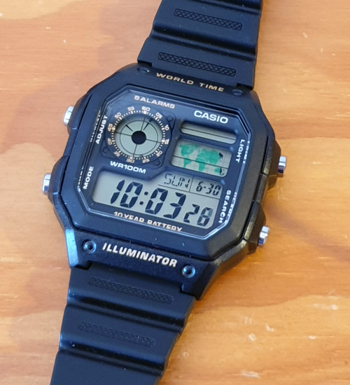 Casio World Time Watch