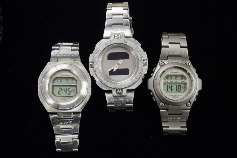 Prototype G-Shocks and First Production Model