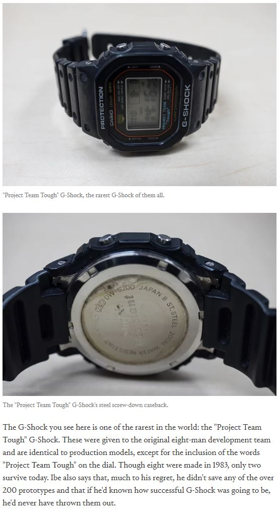 Rarest G-Shock