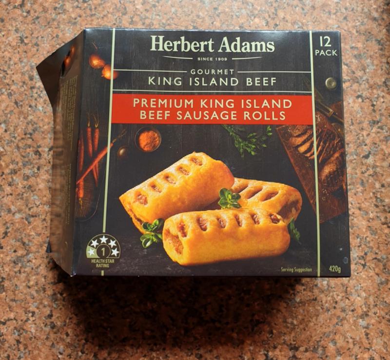 Herbert Adams Sausage Rolls