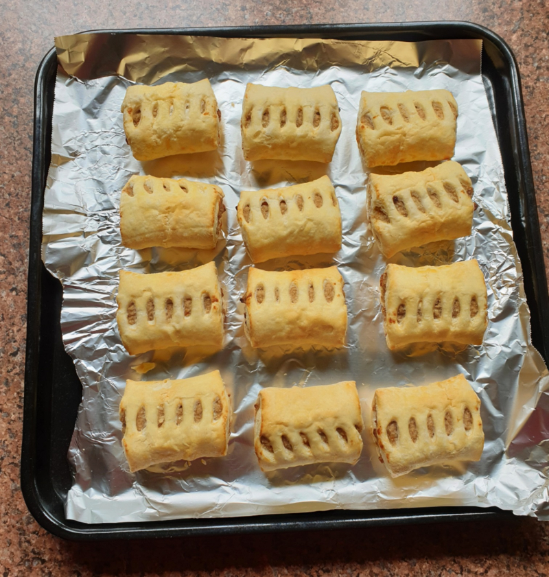 Sausage Rolls Ready to Cook