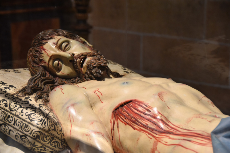Segovia Cathedral Christ Wounds